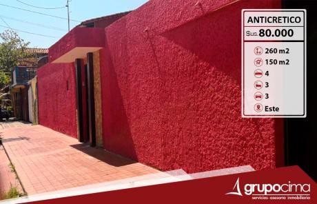 Hermosa Casa Con Piscina En Anticretico !!