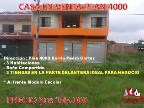 Casa En Venta Plan 4000