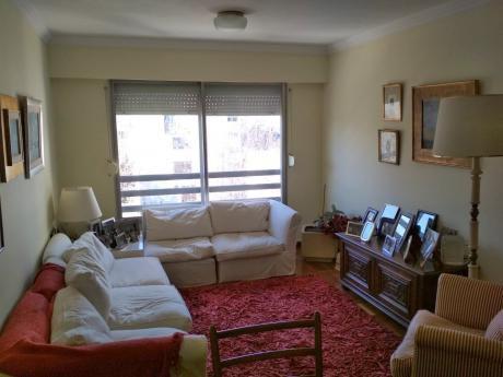 Apartamento En Parque Rodó; 3 Dormitorios; 2 Baños; Garage