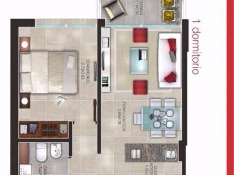 Venta De Excelente Apartamento, Impecable.