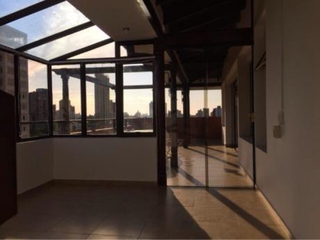 Alquilo Penthouse Amoblado En Las Mercedes