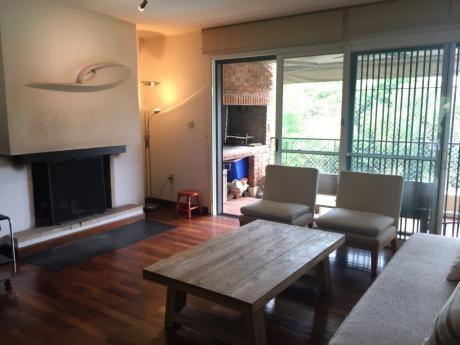 Excelente Apartamento En Alquiler En Carrasco Sur, Muy Luminoso