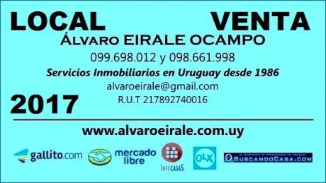 U120533 1.500.000= Local Frente A Punta Carretas Shopping