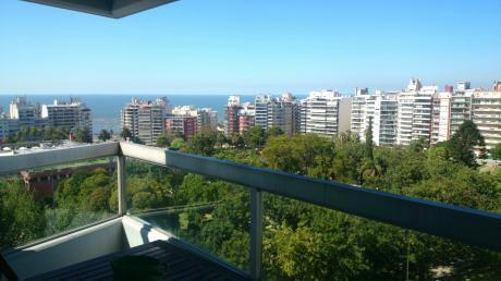 Exc.planta ,piso Alto , Frente Al Parque 3dorm,3baño,garaje