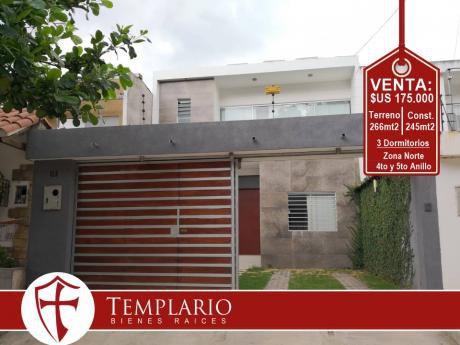 Zona Norte 4to Y 5to Anillo - Av. Canal Pedro Velez - Venta: $us 175.000