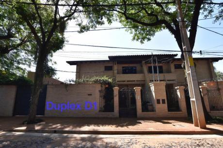 Alquilo Dúplex Amoblado Con Piscina En Barrio Herrera