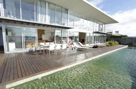 Casa, 4 Dorm + Dep Serv + Casa Huespedes, Santa Monica, Punta Del Este, Venta