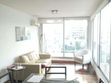 Excelente Apartamento Con Buen Gusto- 1 Dormitorio Amueblado Punta Carretas