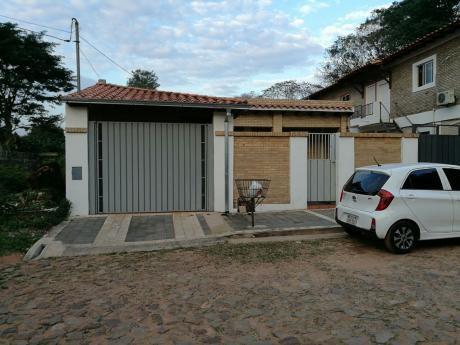 Alquilo Casa De 2 Dormitorios En Lambare Zona Heroes Del 70