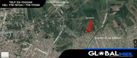 Manzana Completa Sobre Nueva Carretera A Warnes
