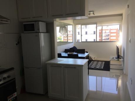 Alquiler Apto 1 Dormitorio Punta Carretas Con Muebles