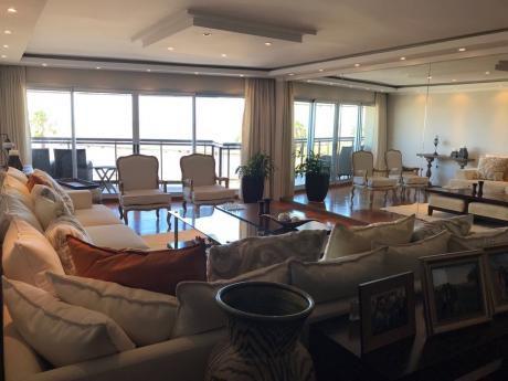 Exclusivo Y Espectacular Apartamento Sobre Rambla De Punta Carretas Equipado