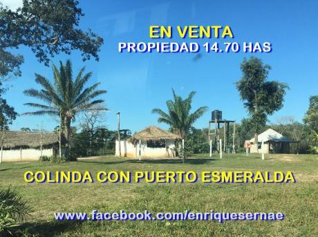 Propiedad 14.7 Has. Al Lado De Cond.puerto Esmeralda!