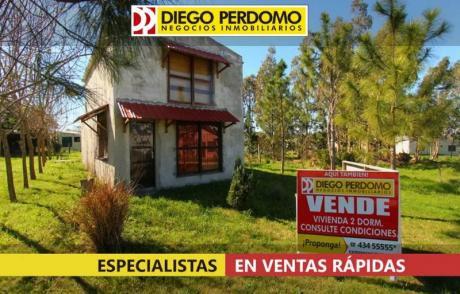 Casa En Venta, 2 Dormitorios, Balneario Kiyú
