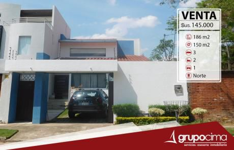 Amplia Casa En Venta B/ Sirari 145.000 $us