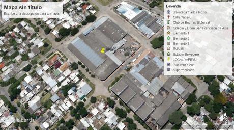 Local Industria O Deposito 6850m2 Techado, + 1500m2. Una Manzana Entera.