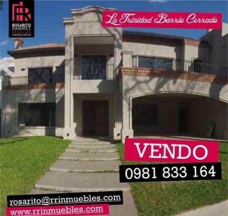 Última Casa Disponible En Exclusivo Barrio Cerrado La Trinidad Iii
