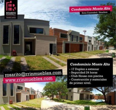 Duplex A Estrenar En Barrio Cerrado Monte Alto
