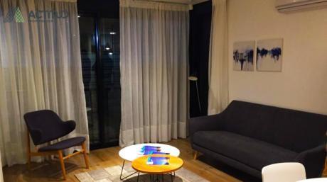 1 Dormitorio Con Vistas A La Bahía De Montevideo