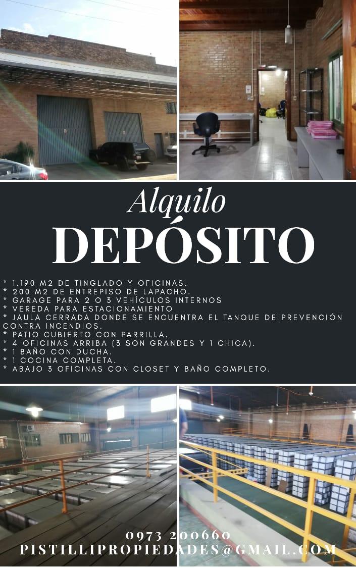 ALQUILO A-073 Depósito Zona CIT