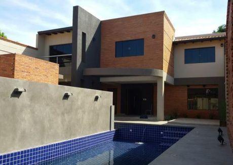 Vendo Hermosa Residencia A Estrenar, Zona Boggiani ? Municipalidad De Asunción