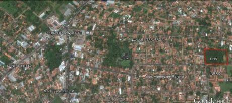 Vendo Terreno 1 Ha  En Fernando De La Mora Zona Inpro