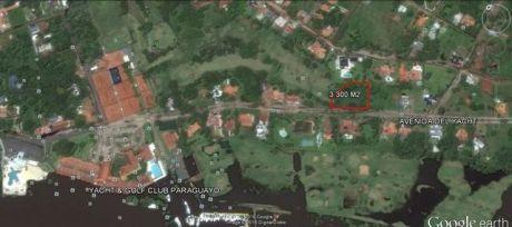 Vendo Terreno 3.300 M2 Yacht & Golf Club Paraguayo