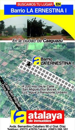 Barrio La Ernestina I