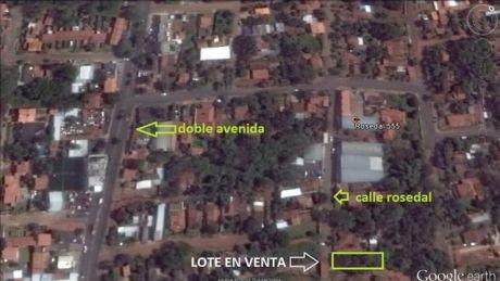 Terreno De 370m2. Villa Elisa, A 200mts. De La Doble Av. Von Polesky, Arbolado, Todo Poblado, Ideal Para Vivir, Construir, Invertir, Deposito, Duplex