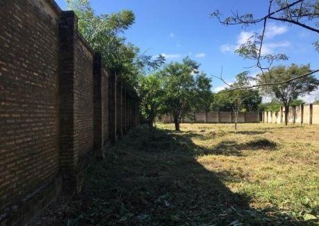 Vendo Terreno Amurallado En Loma Pyta A Solo 500 Metros De Ruta Transchaco(detrÁs De Alex S.a)