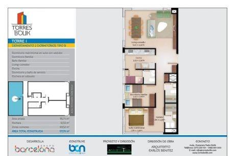 Venta En Pozo Departamentos De 2 Dormitorios - Torres Bolik