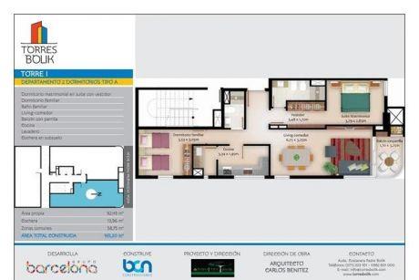Departamento De 2 Dormitorios - Encarnación