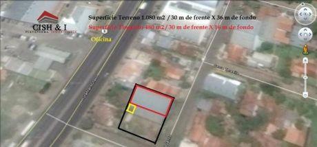 Vendo: Terreno 1.080 M2 / Con 500 M2 De Tinglado Y Oficinas Para Demoler O Reciclar.