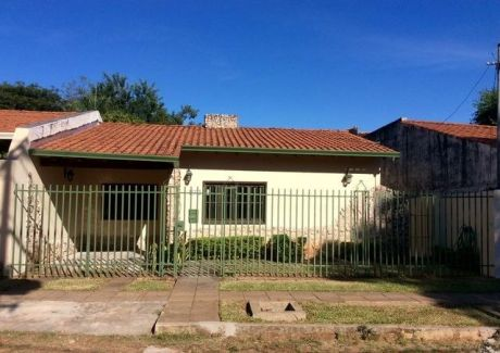 Financio A Sola Firma  Casa En Lambare Zona SÚper Archi