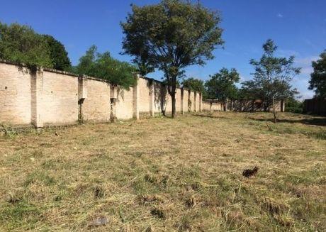 Oferto 5 Hermosos Terrenos En Esquina Totalmente Amurallado-zona Semidei A 500 Metros De Ruta Transchaco