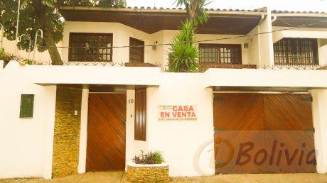 Casa En Venta Av. Suarez Arana Entre 1ro Y 2do Anillo, Inversión: $us.- 154.000.