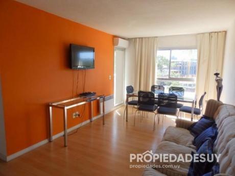 Pni - Departamento En Alquiler De 2 Dormitorios - 1 Baños En Punta Del Este