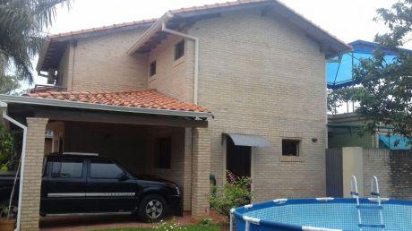 Tierra Inmobiliaria-vende Hermosa Casa En Barrio Cerrado !  Villa Adela Luque