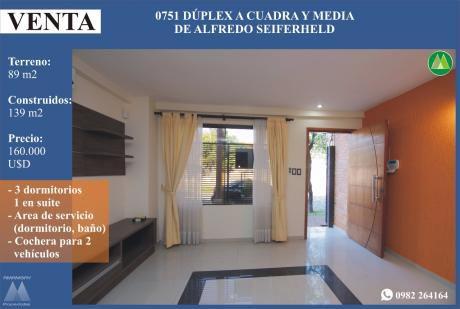 0751 Duplex En Barrio Recoleta