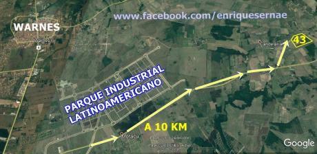 Hermosa Quinta 43 Has.  – Parque Industrial Latinoamericano Warnes!
