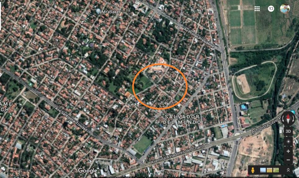 Vendo Terreno A Una Cuadra De La Trinidad 5, Barrio Mburucuya