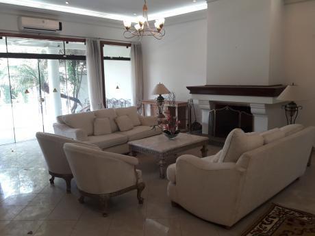 Hermosa Residencia Lujosa En Alquiler