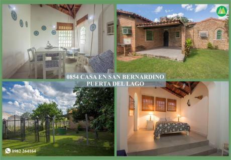 0854 Casa En San Bernardino, Club Náutico Puerta Del Lago
