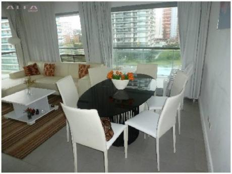 Apartamentos En Playa Mansa: Alf521a