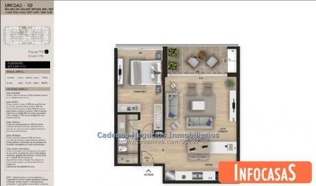Apartamento Venta 1 Dormitorio Barra De Carrasco