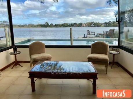 Alquiler Casa 5 Dormitorios Carrasco Piscina Lago Parque Miramar