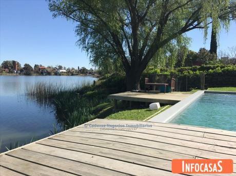 Casa Venta Alquiler 5 Dormitorios Parque Miramar Lago
