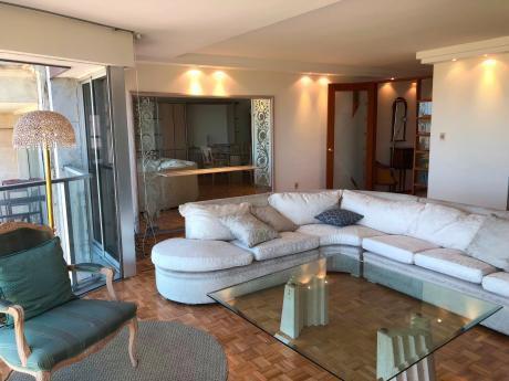 Rbla De Pta Carretas, Espectacular Vista, 3 Dorm, Servicio,estar