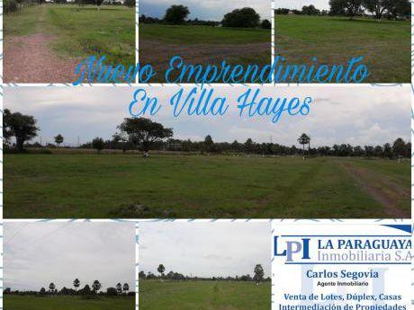 Vendo Terreno En Villa Hayes