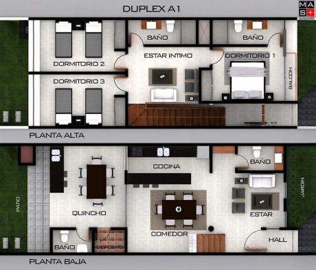 Duplex A Estrenar - Zona Pinedo Shopping